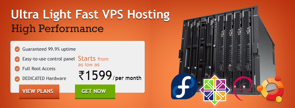 VPS Web Hosting in India
